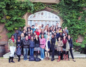Students at Cumberland Lodge. (Photo submitted by Benazir Syahril for the LSE International Development blog)